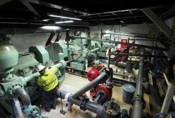 Drilling Mud Pump Room