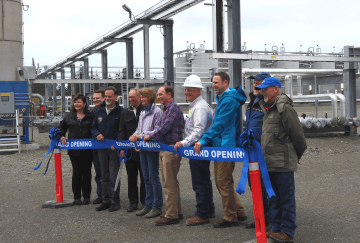 Ribbon Cutting for the Facility